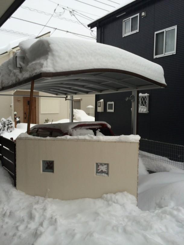 カーポート 積雪