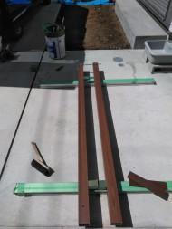 アルミ角柱建て 8