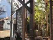架台デッキ柱補修 6