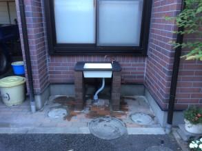 立水栓 完成