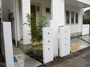 耐震構造のユニット壁等の耐震エクステリア製品